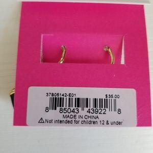 Betsey Johnson Jewelry - Betsey Johnson Black Camera earrings